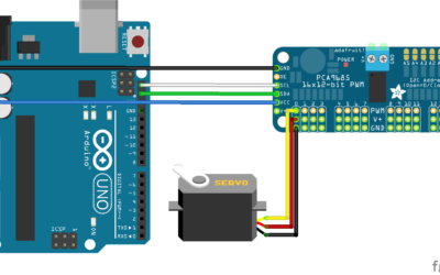 Using a PCA9685 module with Arduino