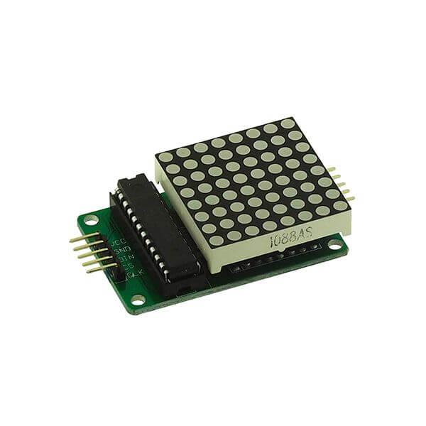 Utilisation d'une Matrice de LED 8×8 avec Arduino