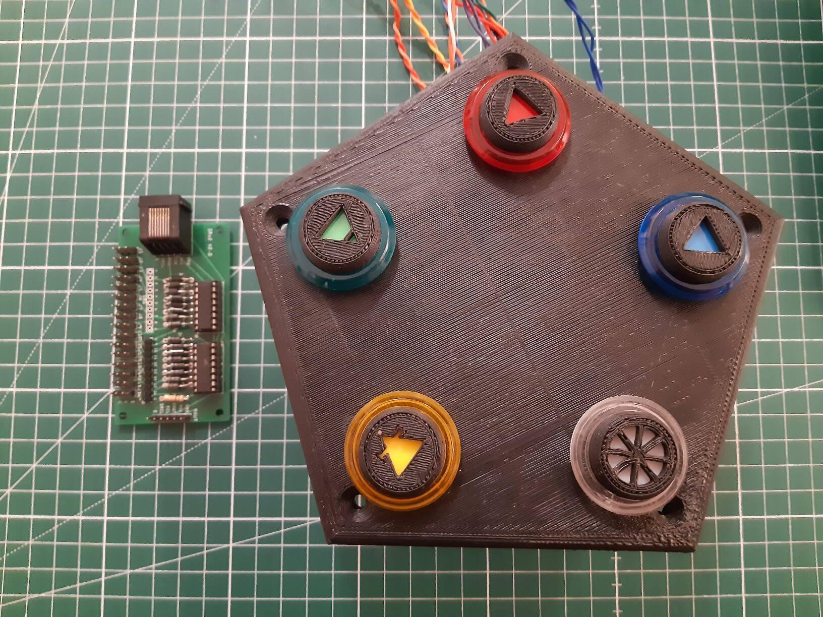 Gérer boutons et LEDs avec un registre à décalage