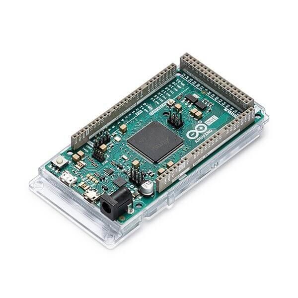 Vue d'ensemble du microcontrôleur Arduino Due