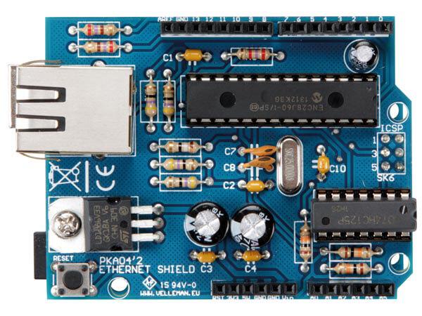 Conecte Arduino a internet con Ethernet Shield VMA04