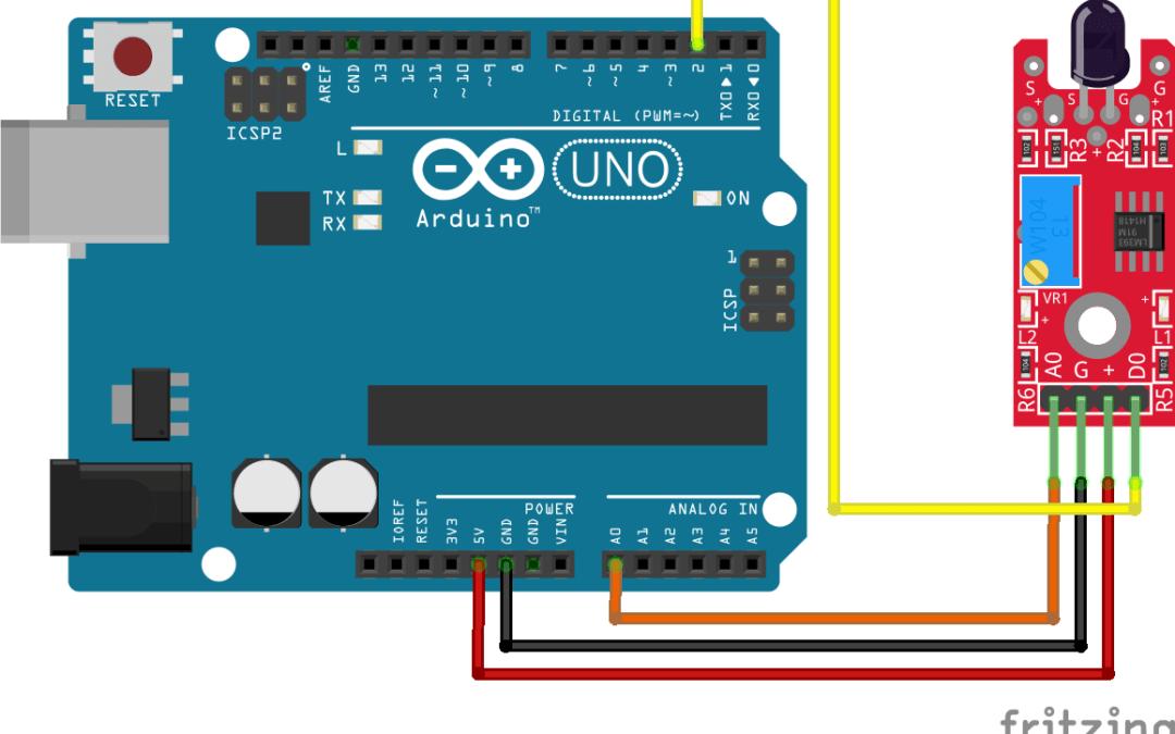 Utilisation d'un capteur de flamme avec Arduino