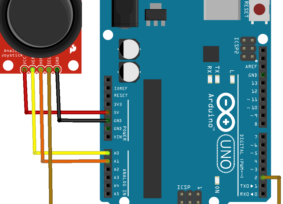 Using a Joystick with Arduino