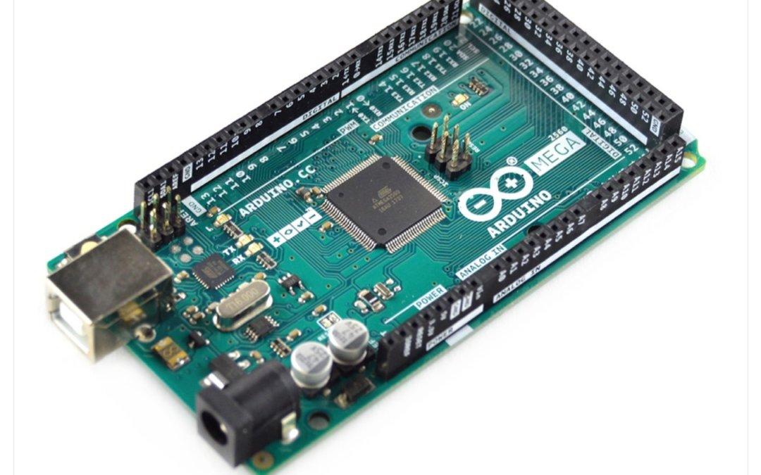 Vue d'ensemble du microcontrôleur Arduino MEGA