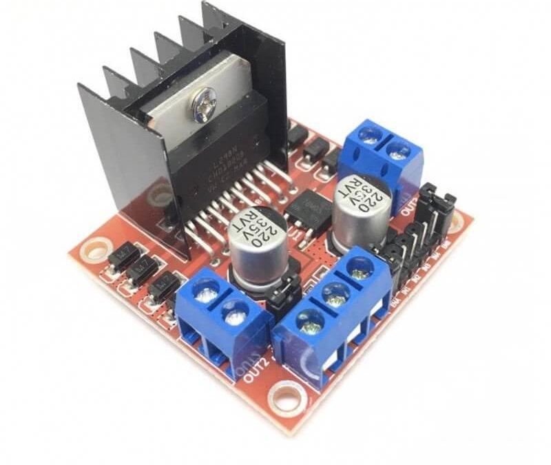 Utilisation d'un module L298N avec Arduino