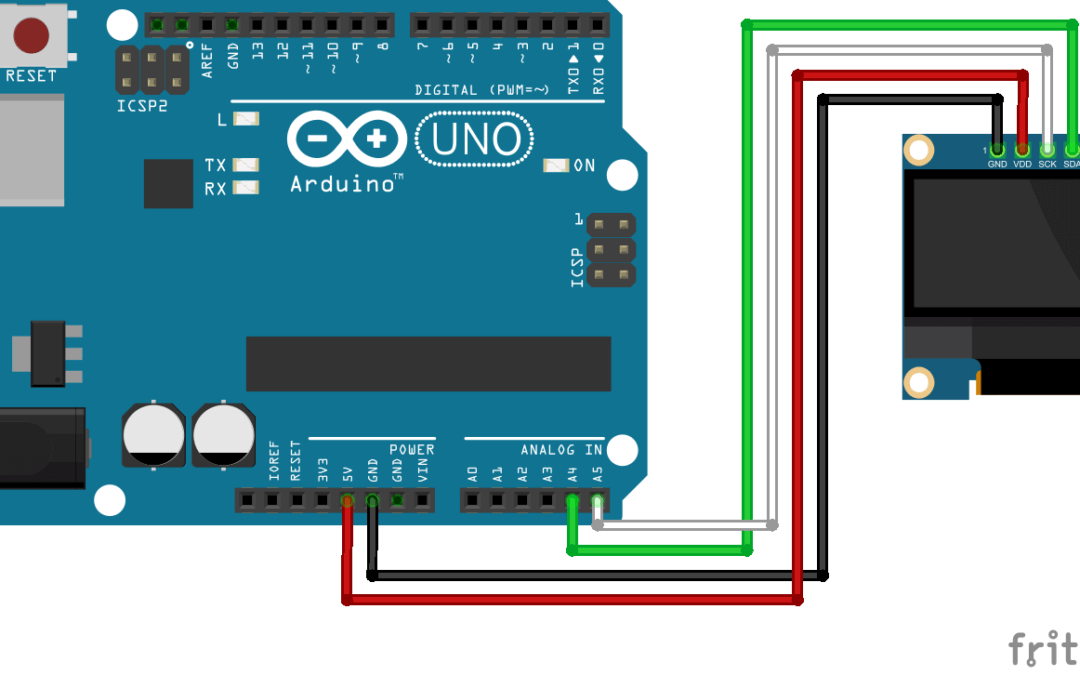 Using an OLED Display with Arduino