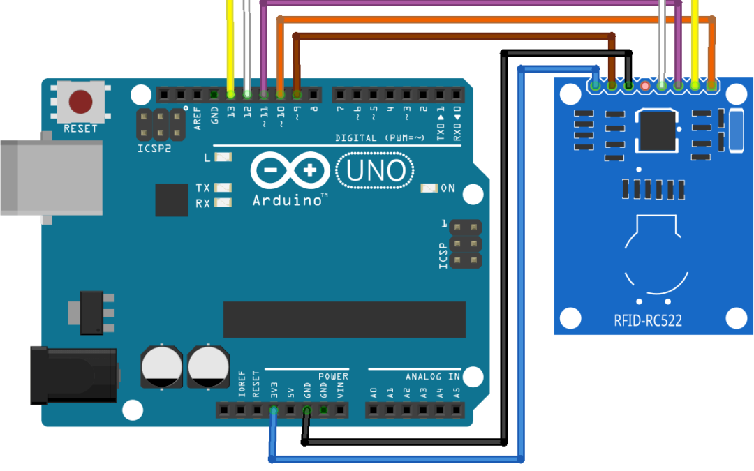 Using a RFID module with Arduino