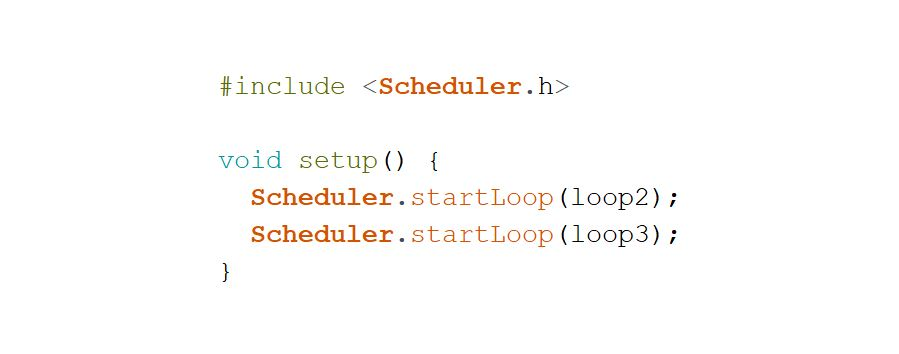 Programme multitâche avec Arduino Due et Scheduler
