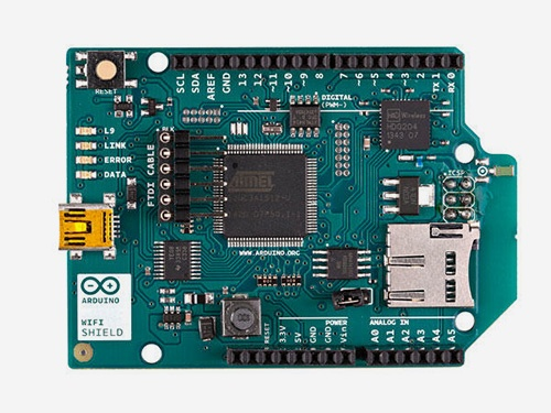 Using a WiFi Shield with Arduino
