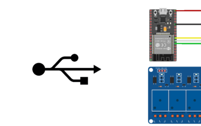 Control 8 relays using ESP32 and serial monitor
