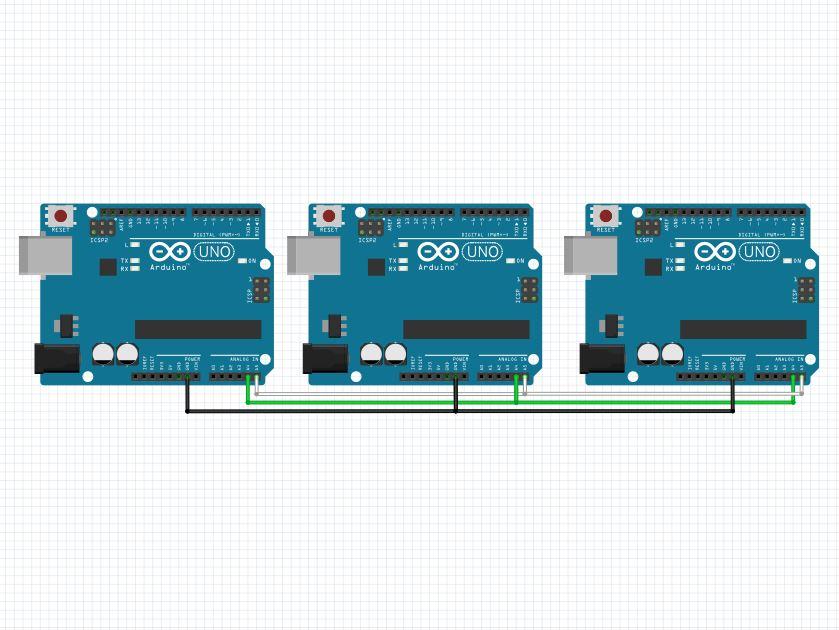 Administre múltiples Arduino con un bus I2C