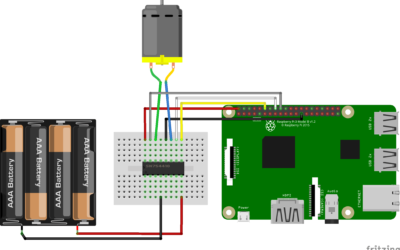Control a DC Motor with Raspberry Pi