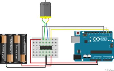 Controla un motor CC con Arduino