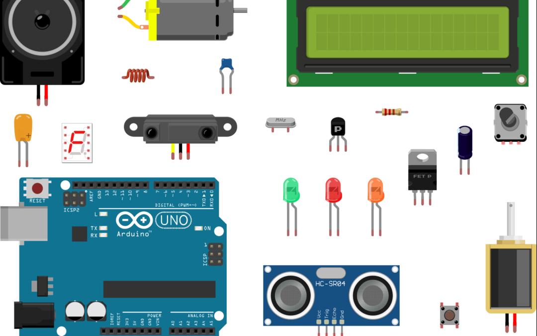 Les différents composants en électronique