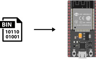 Generar y cargar archivos BIN para ESP32