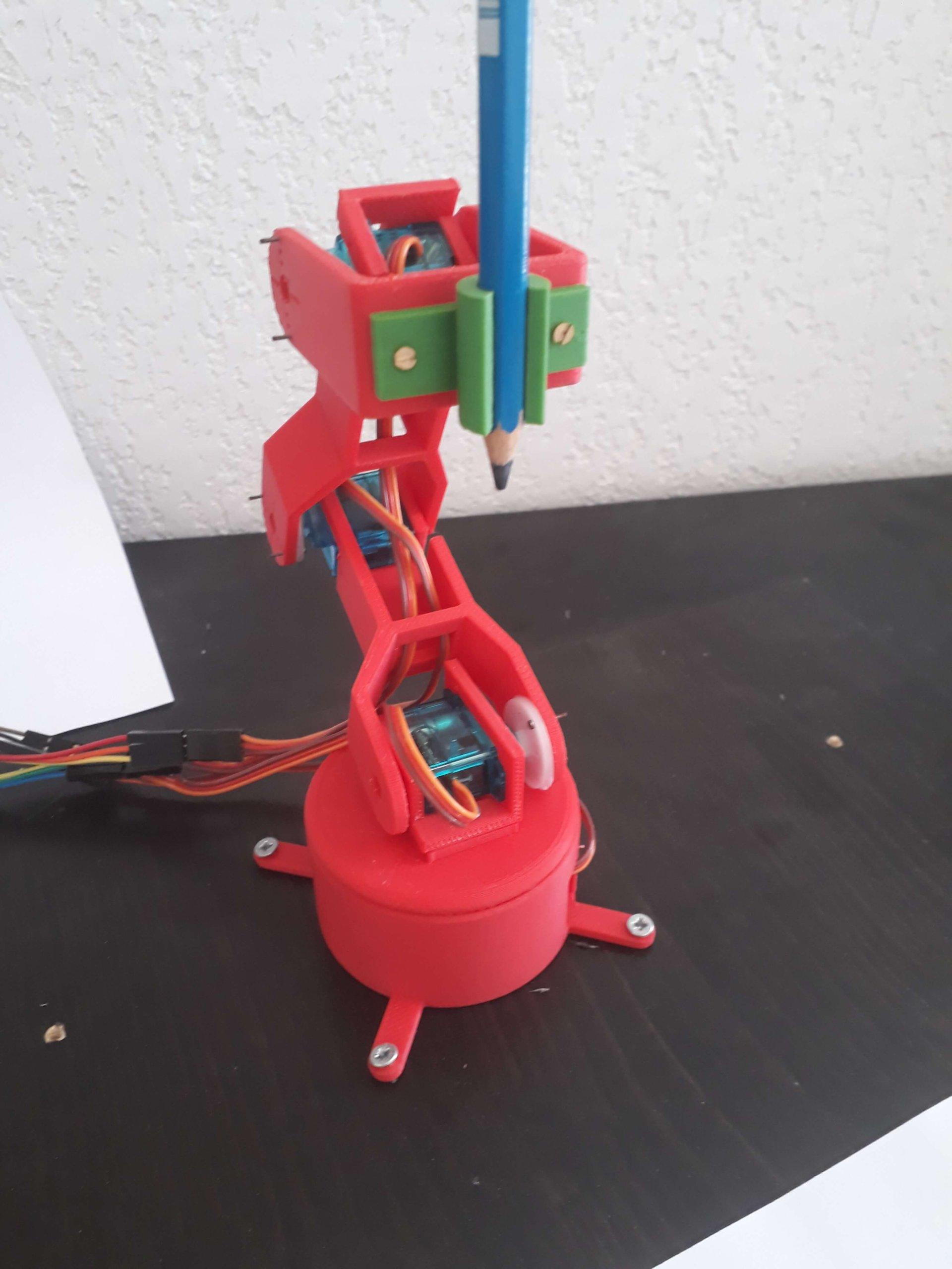 handy bras robotisé printer