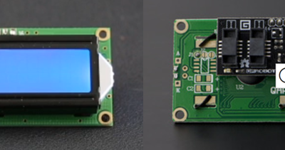 Managing an LCD screen via the I2C connection of an Arduino