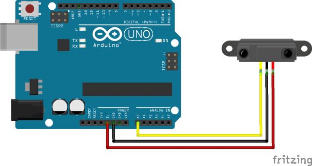 infrared sensor scheme