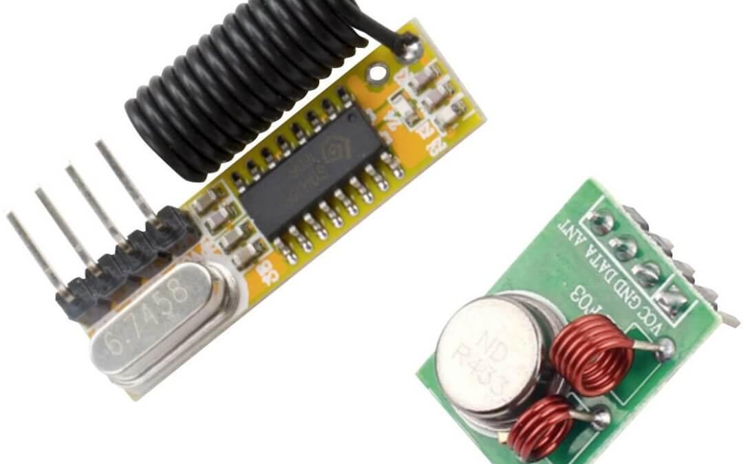 Utilisation d'un module RF 433MHz avec Arduino