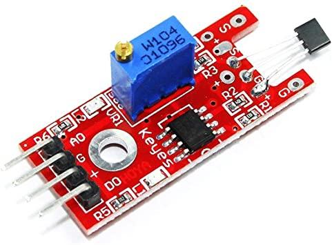 Utilisation d'un capteur à effet Hall avec Arduino