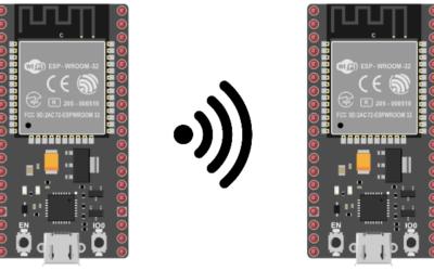 Communication entre deux ESP32 par WiFi