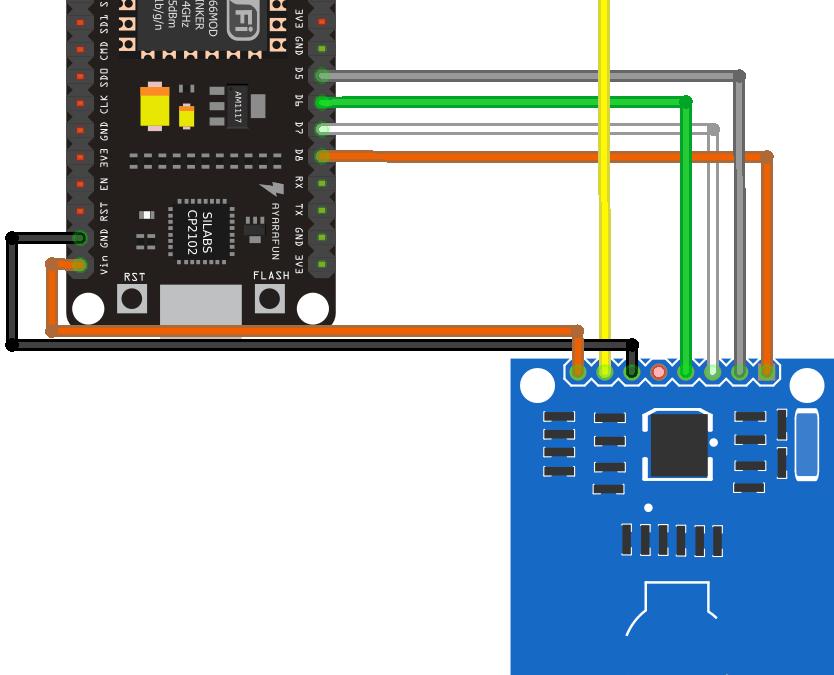 Utilisation d'un module RFID avec un ESP8266