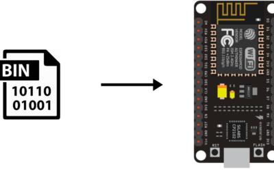 Generar y cargar archivos BIN en un ESP8266