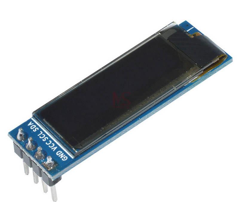 Utilisation d'un afficheur OLED 0.91in avec Arduino