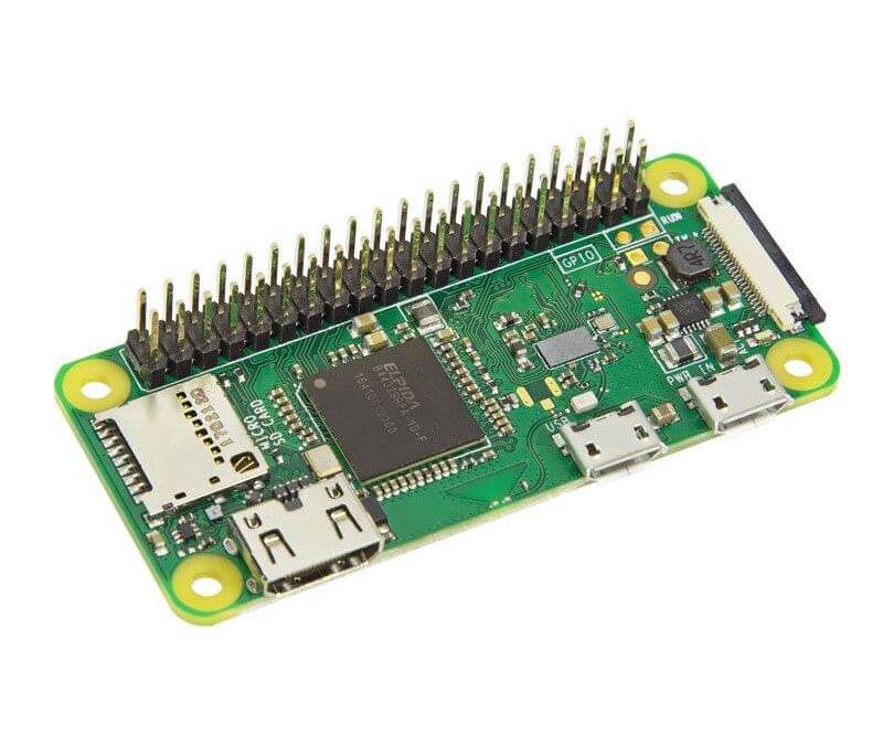 Vue d'ensemble du microcontrôleur Raspberry Pi Zero