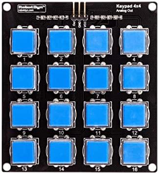 Gérer un Clavier 4×4 Analogique avec Arduino