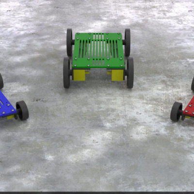 mobile robot rovy kits