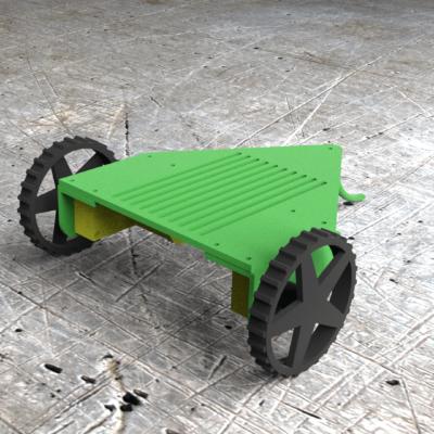 robot mobile robot rovy2w