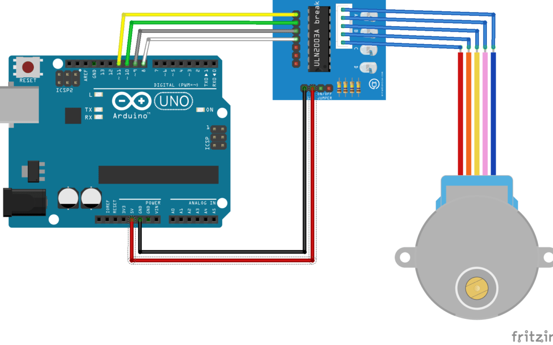 Control a stepper motor with Arduino • AranaCorp