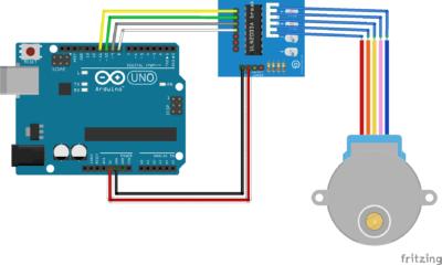 Pilotez un moteur pas à pas avec Arduino