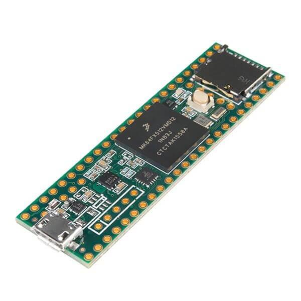 Vue d'ensemble du microcontrôleur Teensy 3.5