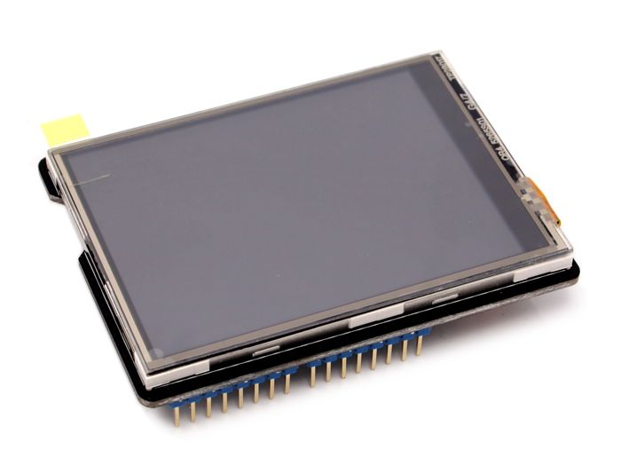 Using a TFT LCD Shield with Arduino