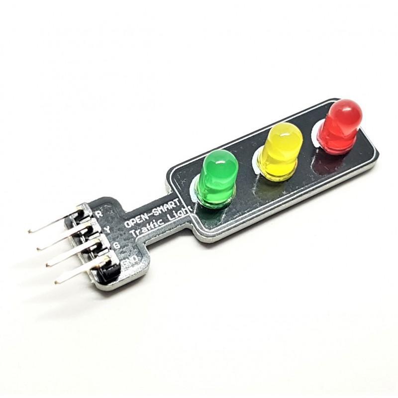 Reproduire le fonctionnement d'un feu tricolore