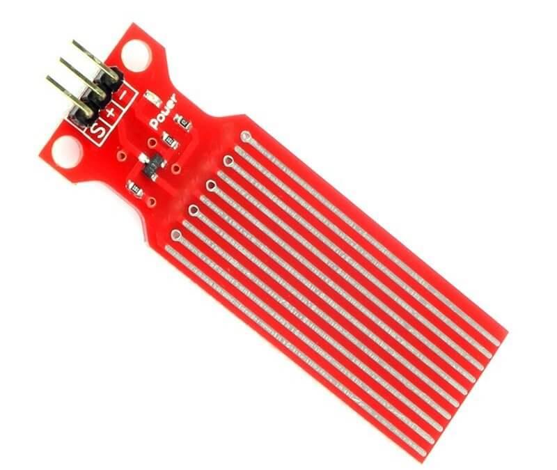 Utilisation d'un capteur de niveau d'eau avec Arduino