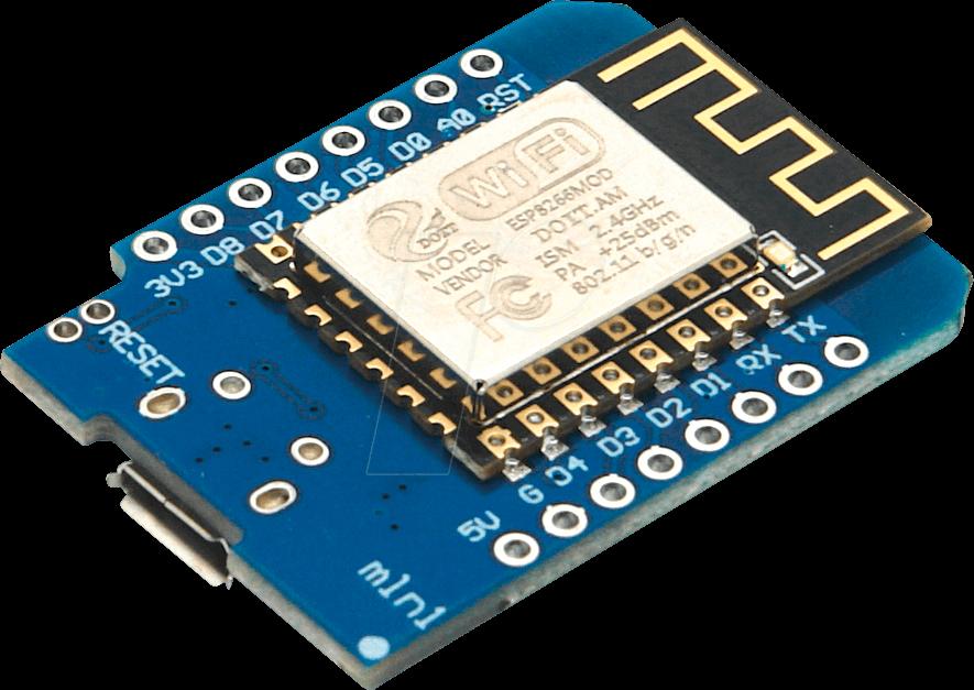 Vue d'ensemble du microcontrôleur Wemos D1 Mini